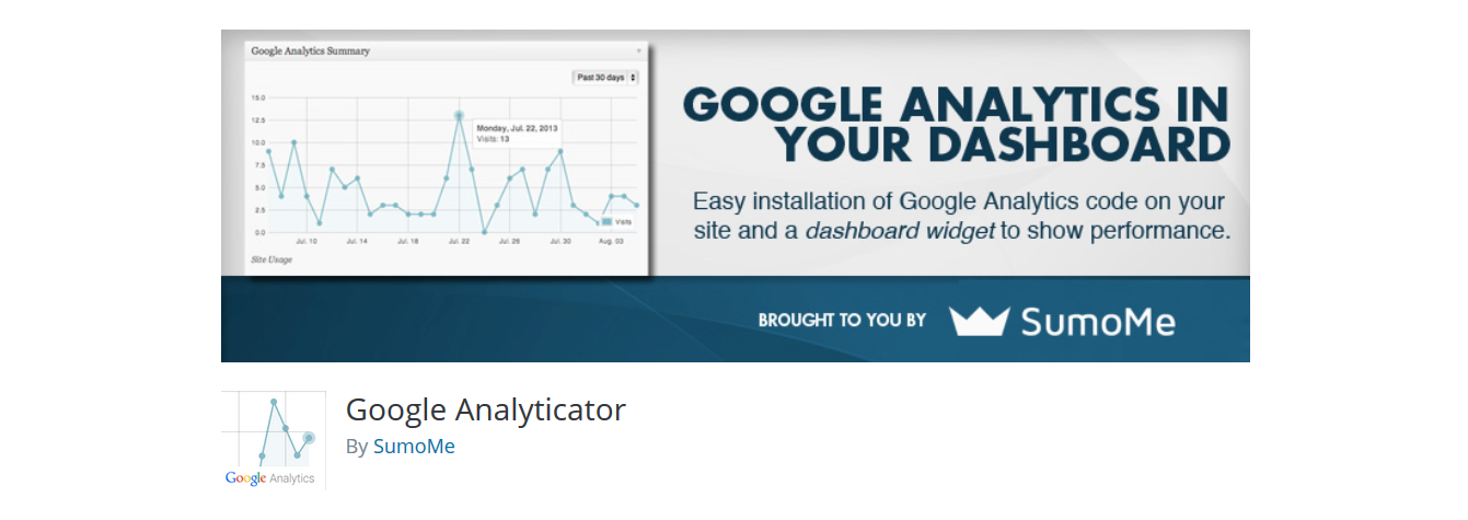 google analyticator plugin