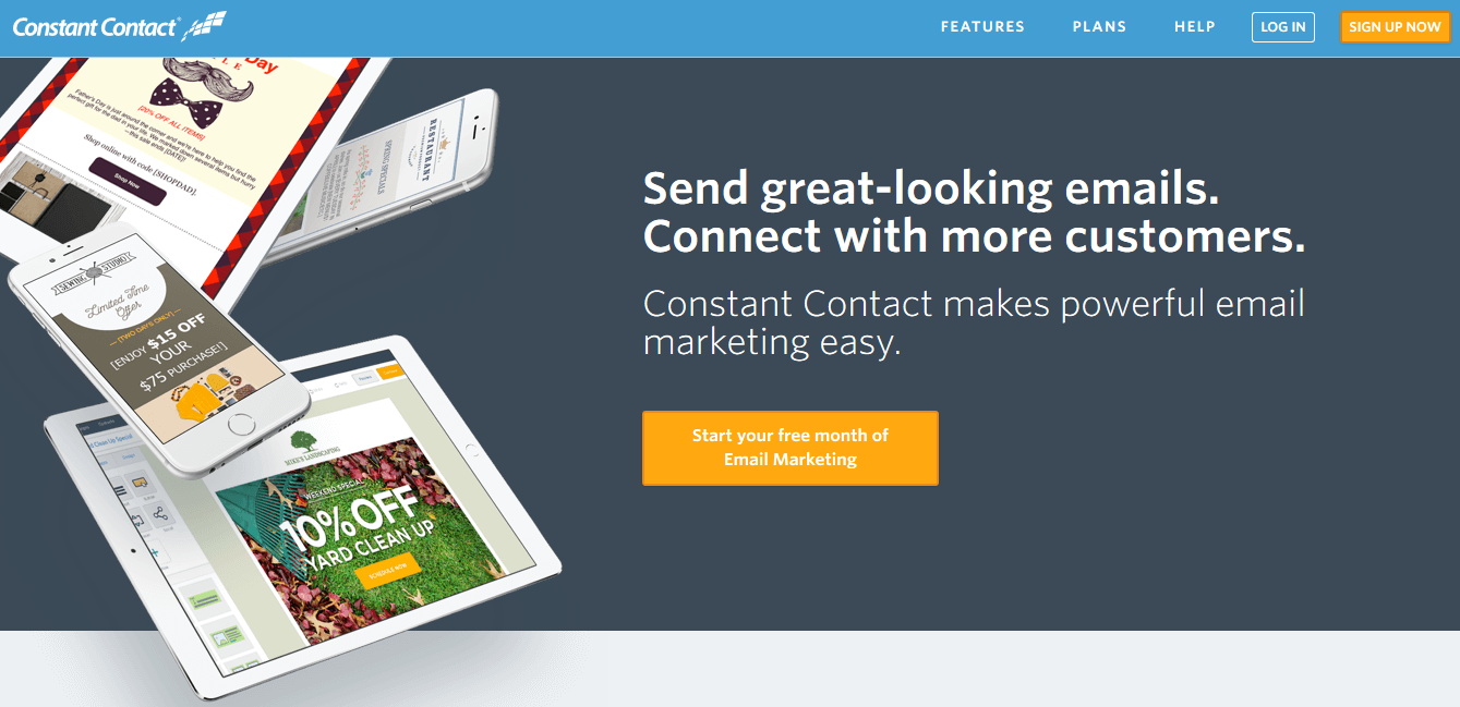 constancontact email marketing plugin