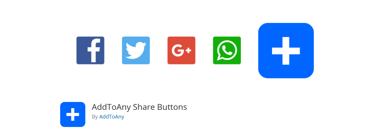 AddToAny social media plugin