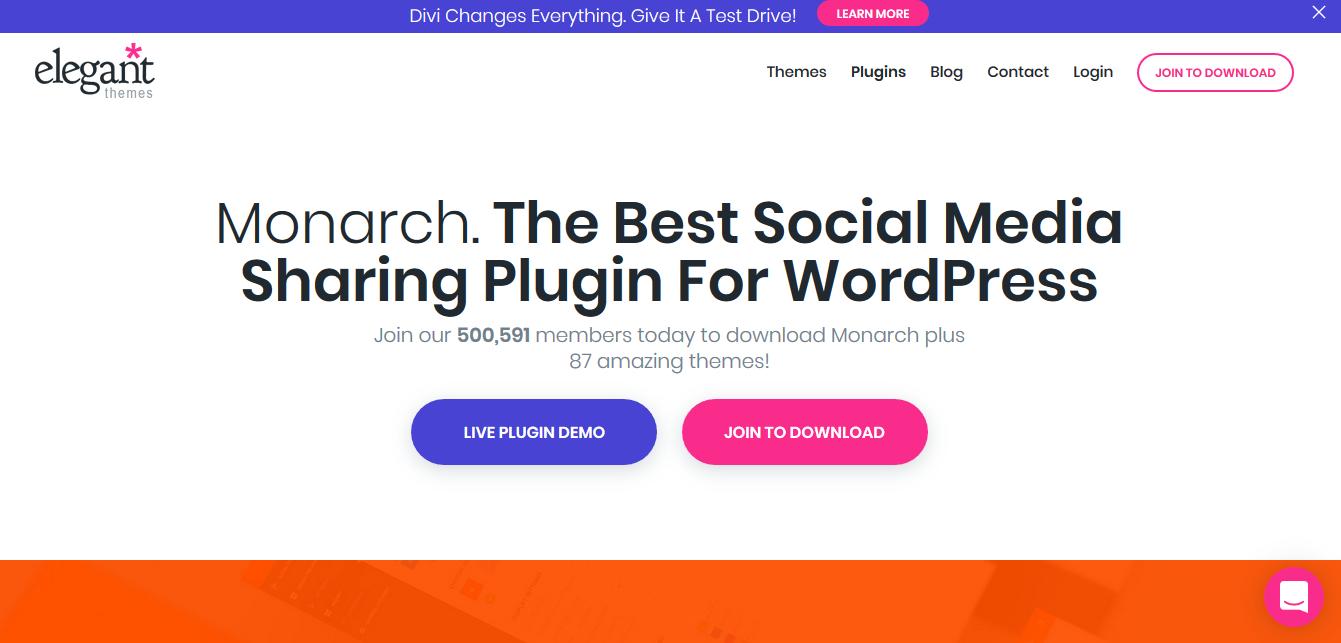 Monarch social media plugin