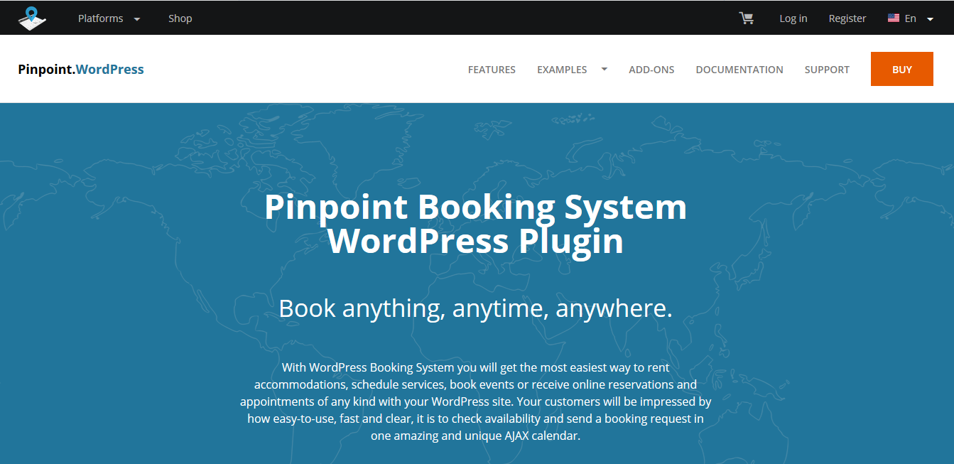 Pinpoint Booking plugin