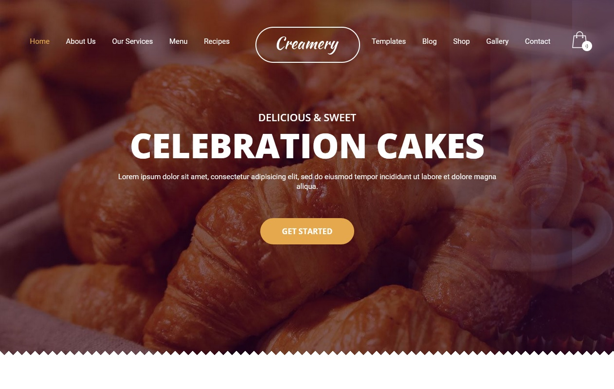 The best Free Food WordPress Themes For Restaurants, Cafes, Recipes, & Food Blogs 7