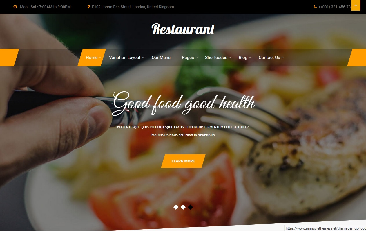 The best Free Food WordPress Themes For Restaurants, Cafes, Recipes, & Food Blogs 6