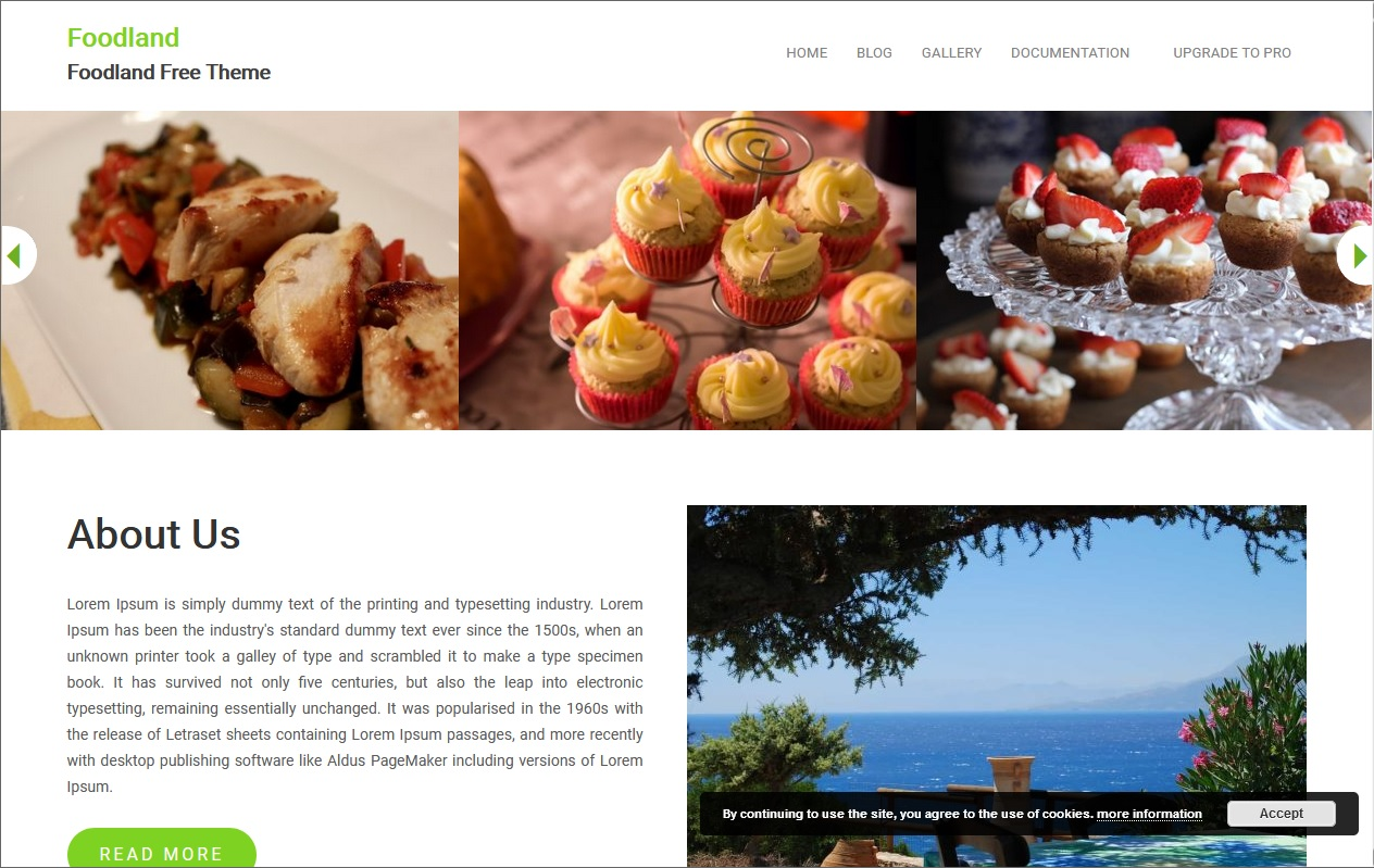 The best Free Food WordPress Themes For Restaurants, Cafes, Recipes, & Food Blogs 11