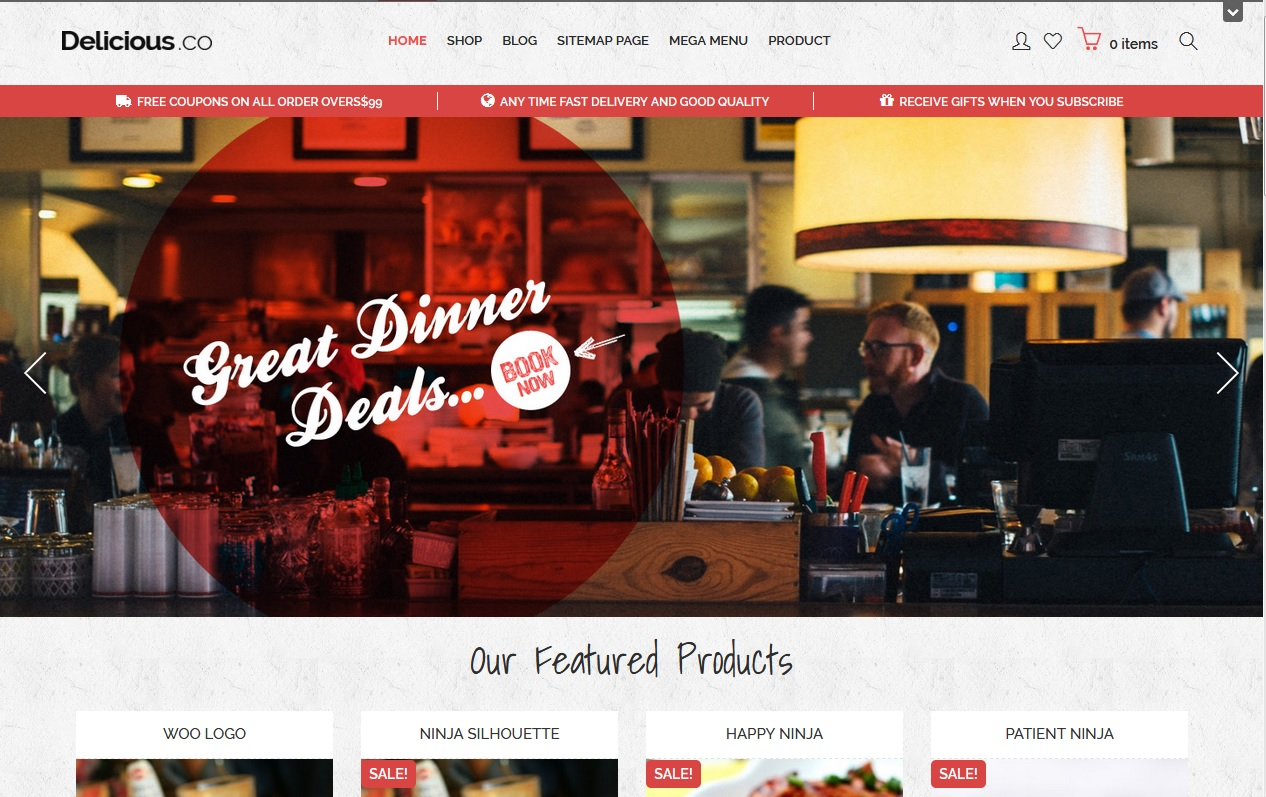 The best Free Food WordPress Themes For Restaurants, Cafes, Recipes, & Food Blogs 10