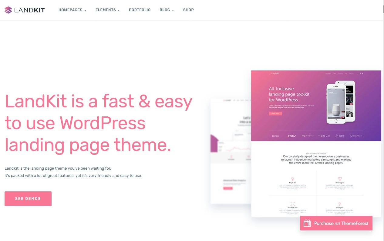 The best landing page themes and tool can help you in 2018 2