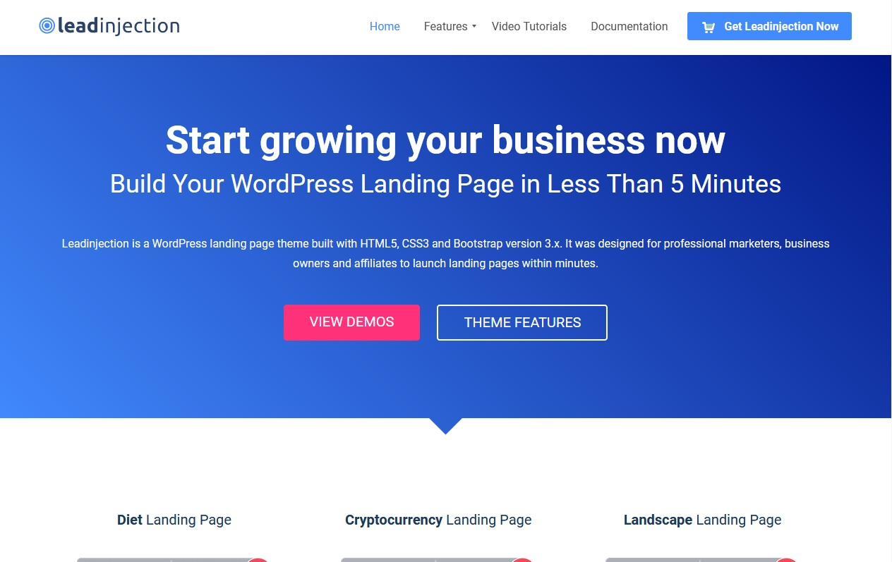 The best wordpress landing page themes for Conversions 8