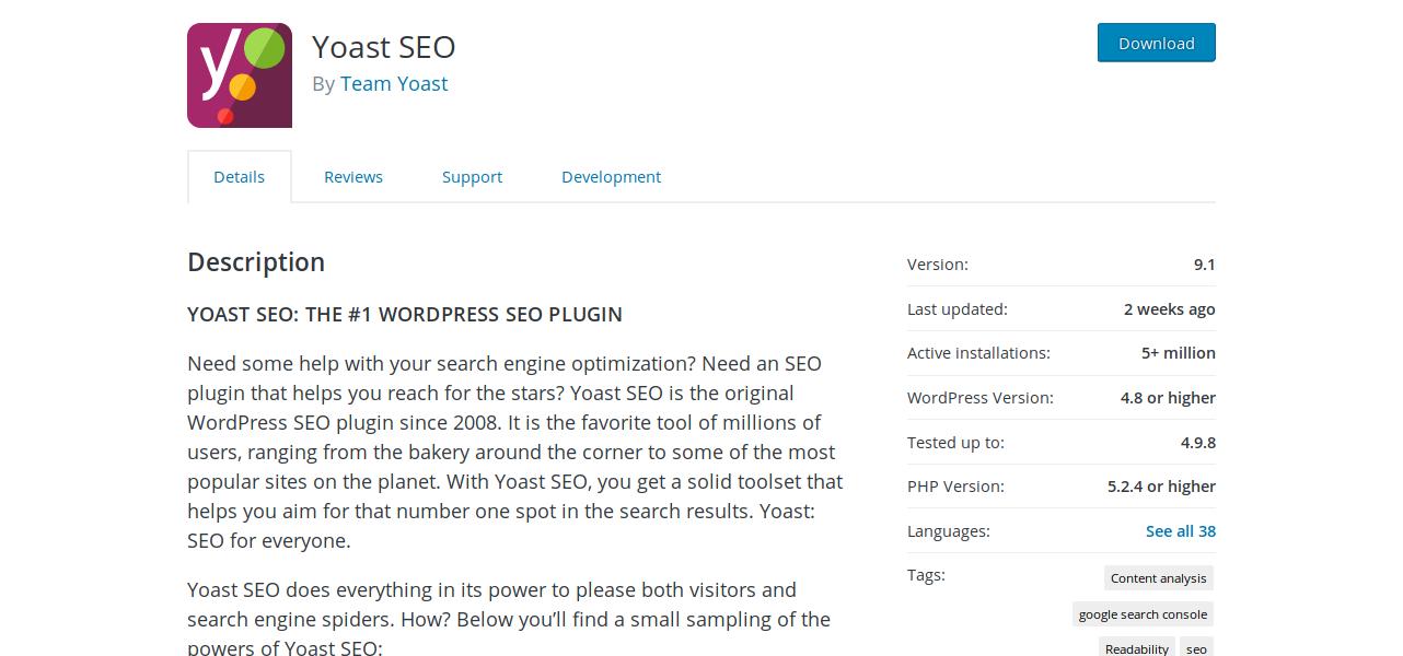plugin page