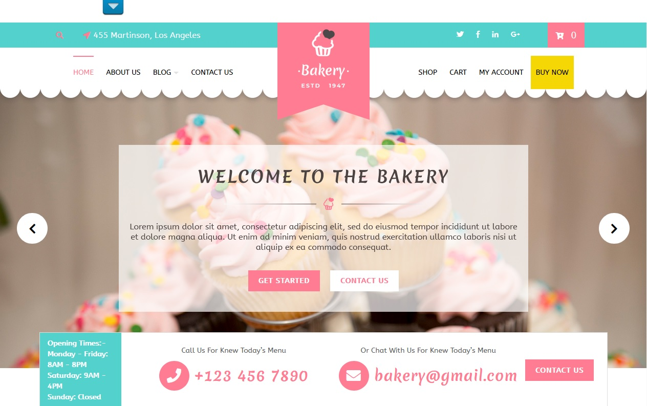 The best Free Food WordPress Themes For Restaurants, Cafes, Recipes, & Food Blogs 3
