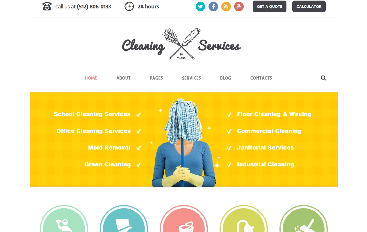 Best House Maintenance Services WordPress Themes To spread your work 2