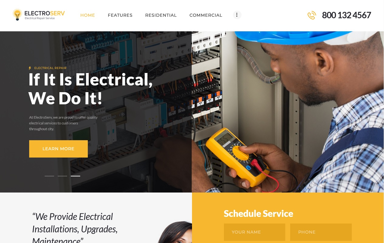 Best House Maintenance Services WordPress Themes To spread your work 7