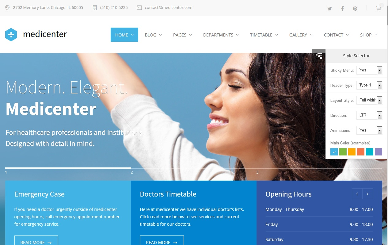 The Best Dentists WordPress Themes 4