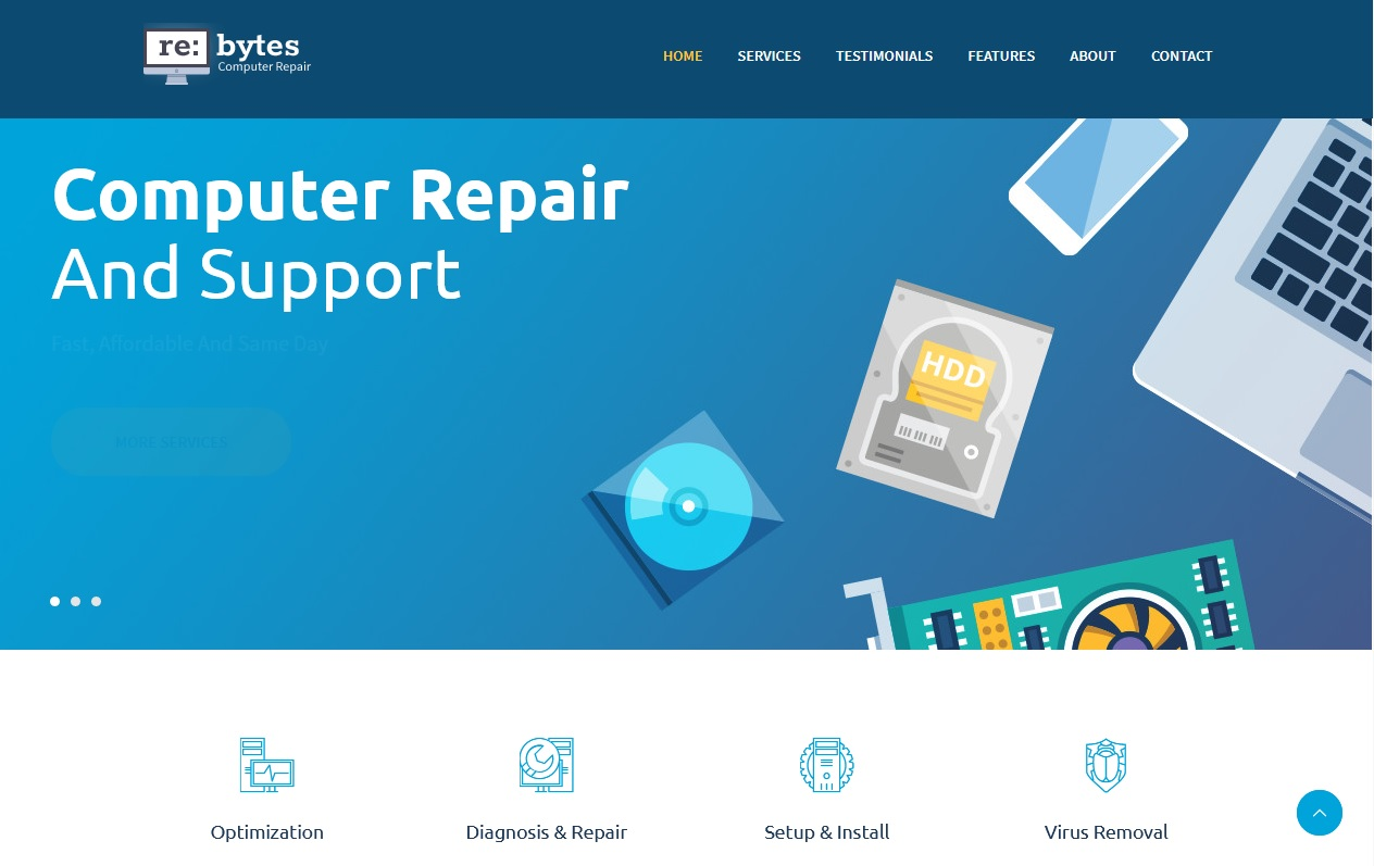 Best House Maintenance Services WordPress Themes To spread your work 8