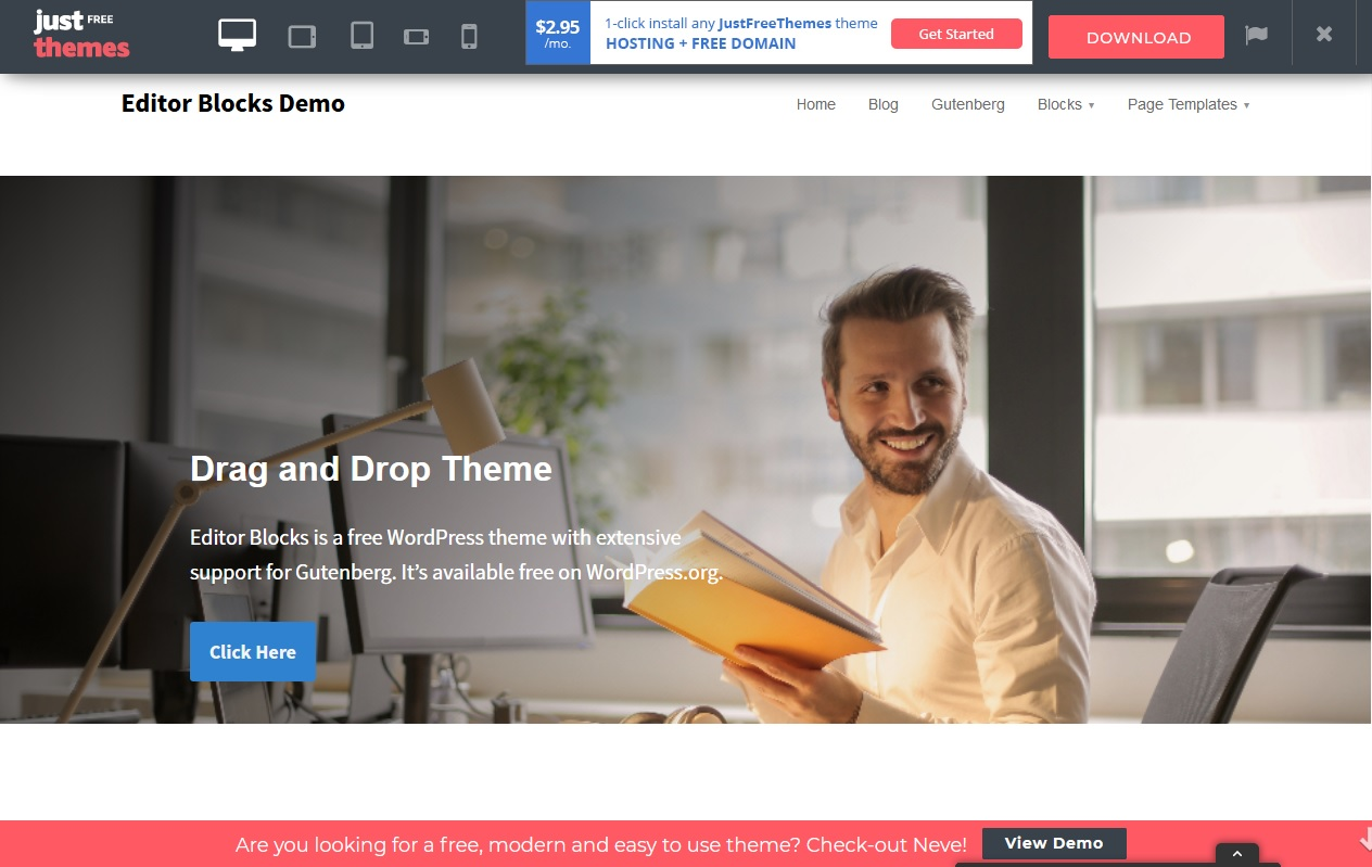 The Best 10 Trends Gutenberg WordPress Themes Compatibility 3