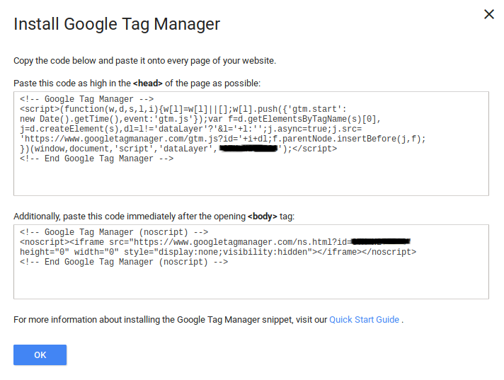 How to install google tag manager on WordPress? 1