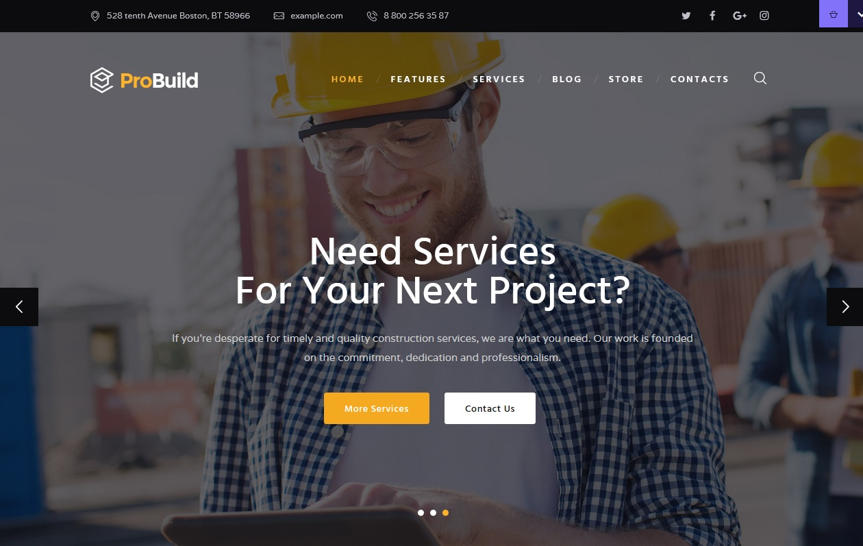 Best House Maintenance Services WordPress Themes To spread your work 10