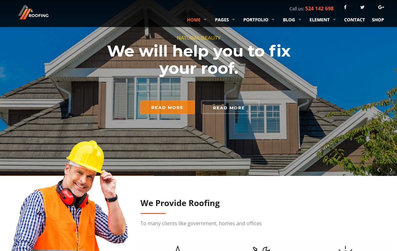 Best House Maintenance Services WordPress Themes To spread your work 6