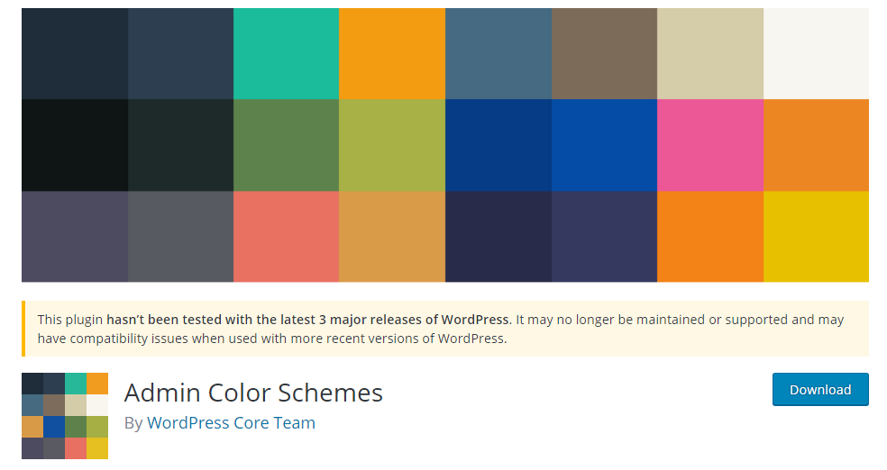 Change the Admin Color Scheme in WordPress 1