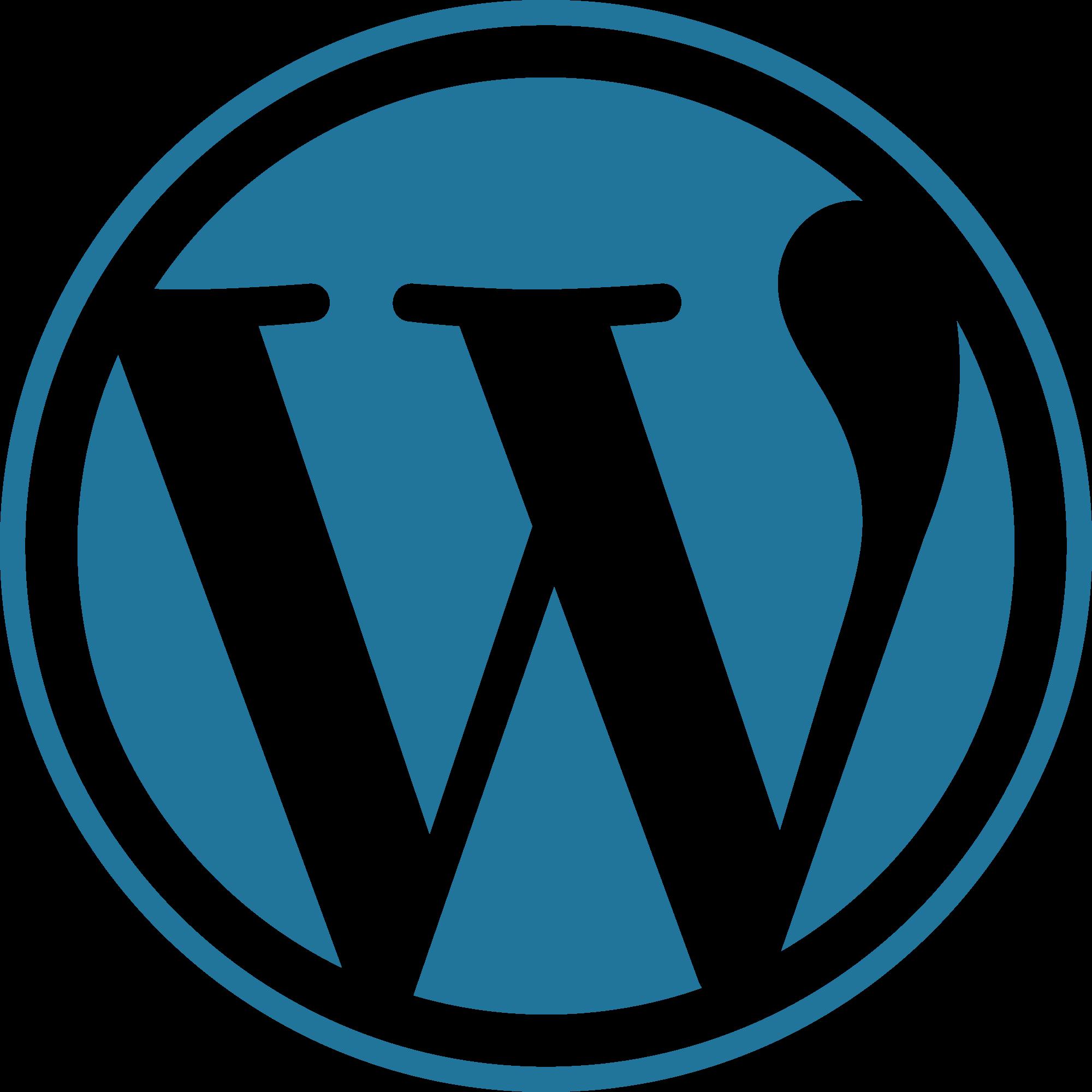 Word_press_blue