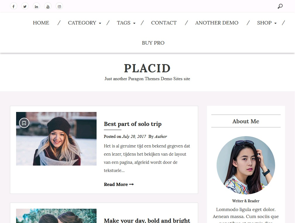 10+ of  best blogging theme for WordPress 6