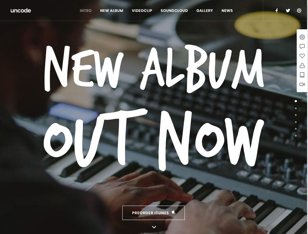 The Best 10  Musician WordPress Themes 7