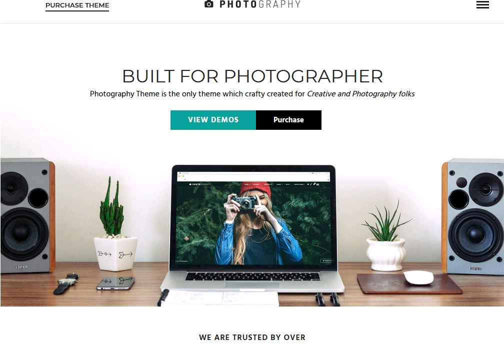 Best Photography Themes for WordPress 2