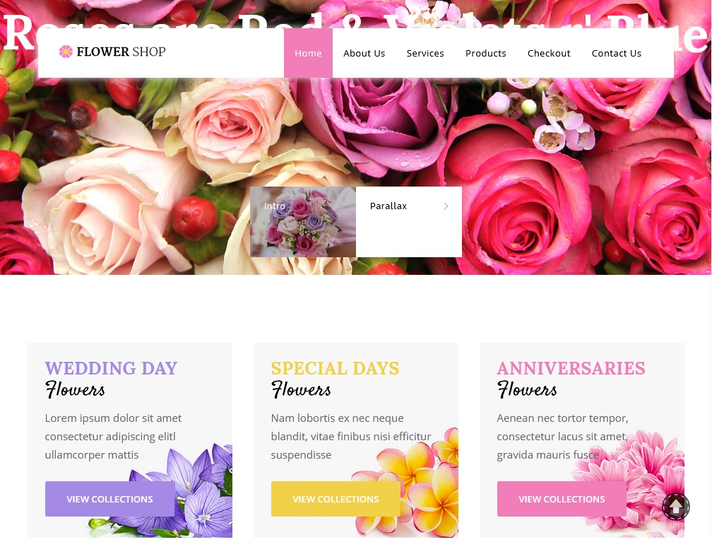 The best flower shop WordPress themes 2020 8
