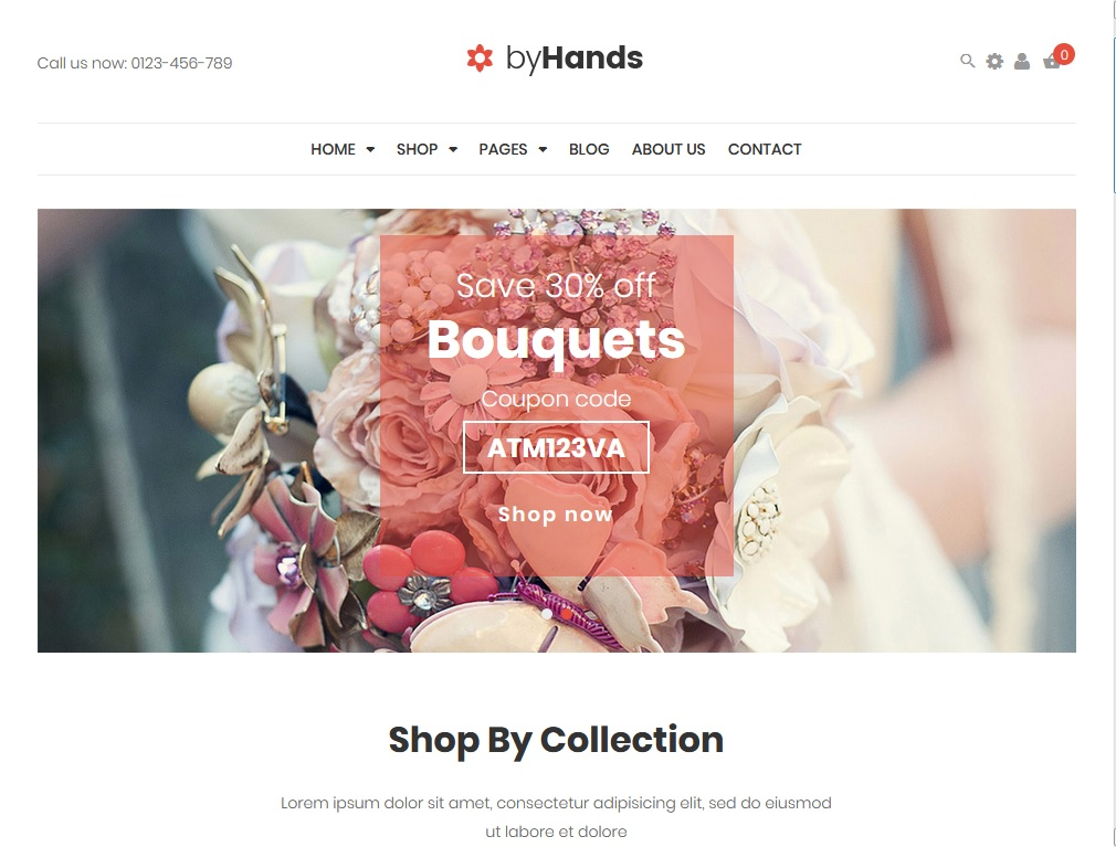 flower shop wordPress themes