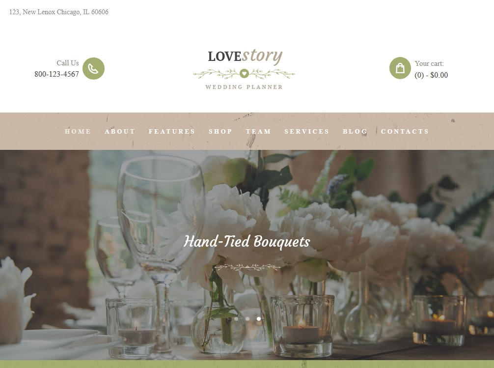 The best flower shop WordPress themes 2020 3