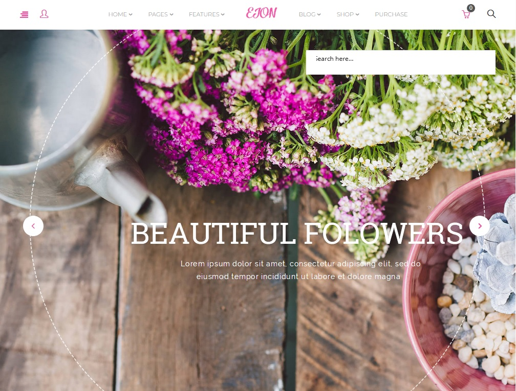 The best flower shop WordPress themes 2020 6