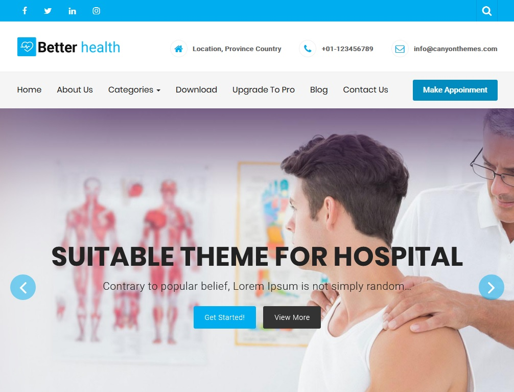 +10 top free WordPress themes 2020 4