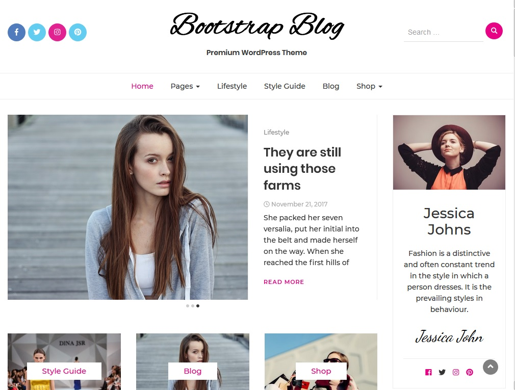+10 top free WordPress themes 2020 6