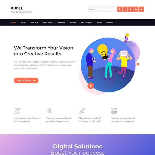 +10 top free WordPress themes 2020 2