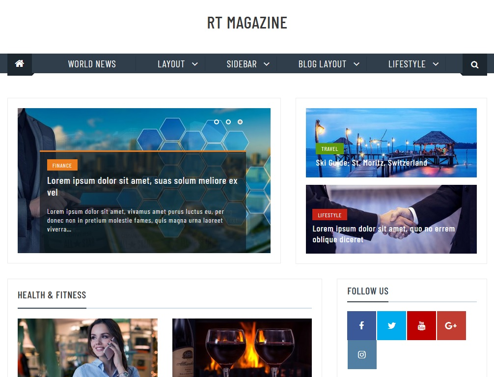 +10 top free WordPress themes 2020 3
