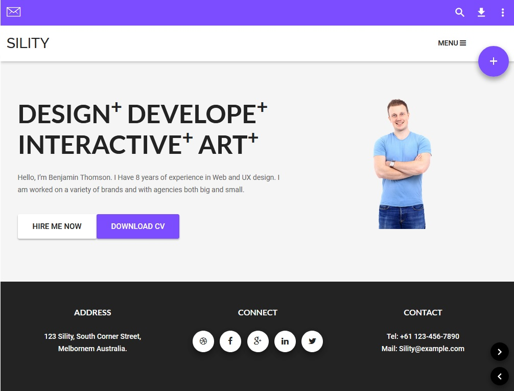 Best 10 WordPress Material Design Themes 8