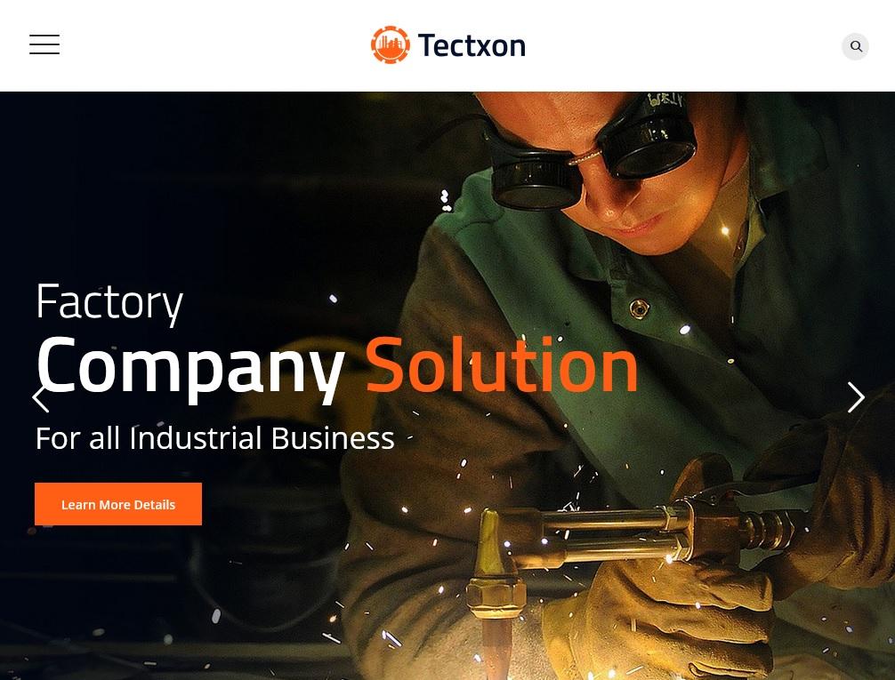 industrial business WordPress themes