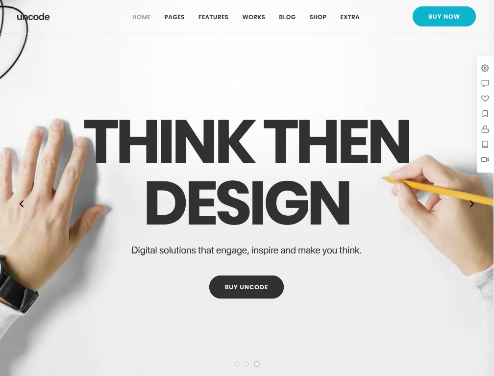 Best 10 WordPress Material Design Themes 1