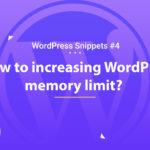 Increasing WordPress Memory Limit 16