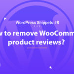 WooCommerce: Remove Product Reviews 16